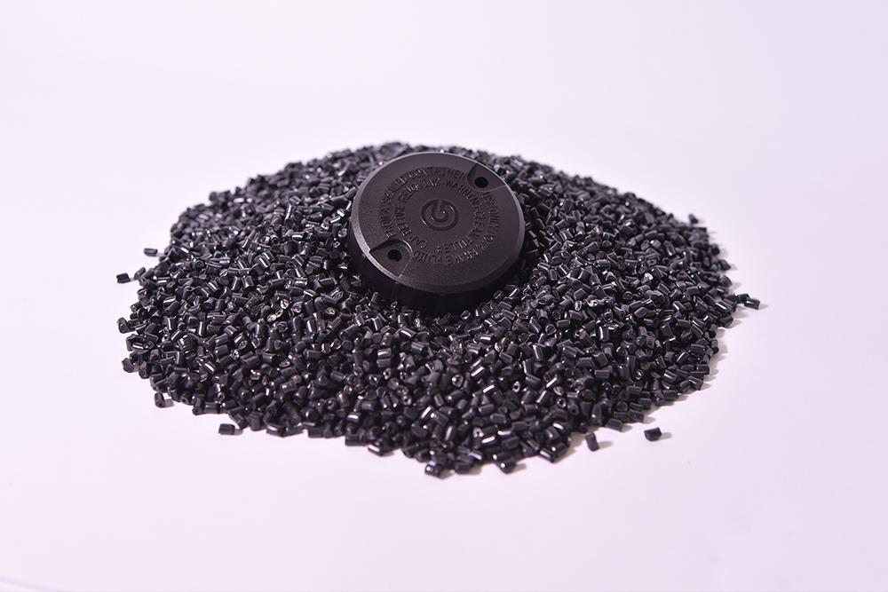 PA 66, 30% Fibra Vetro (Termoplastico).</br>Consumo medio annuo: 60 t